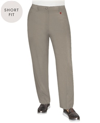 Toni 'Kelly' Short Fit Trousers - Taupe