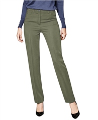 Toni 'Steffi' Regular Fit Trousers - Khaki