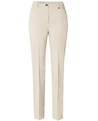 Toni 'Steffi' Regular Fit Trousers - Ecru
