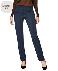 Toni 'Steffi' Short Fit Trousers - Marine