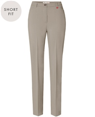 Toni 'Steffi' Short Fit Trousers - Taupe