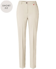 Toni 'Steffi' Short Fit Trousers - Ecru