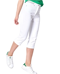 Toni 'Shanghai' Cotton Mix Capri Trousers