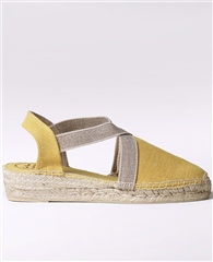 Toni Pons 'Verdi' Canvas Low-Wedge Espadrilles