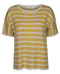 Two Danes 'Nynne' Checked T-Shirt