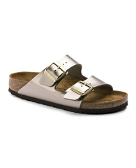 Birkenstock 'Arizona'  Muted Metallic Sandals