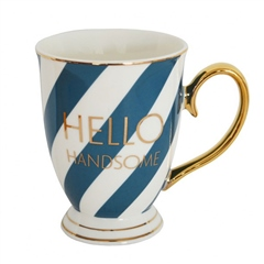 Bombay Duck 'Hello Handsome' Mug
