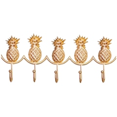 Bombay Duck Row Of 5 Pineapple Hooks