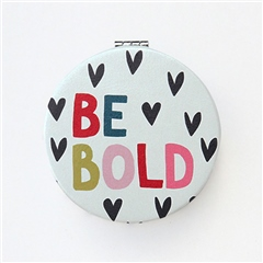 Caroline Gardner 'Be Bold' Pocket Mirror