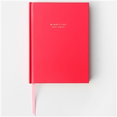 Caroline Gardner Red Hardback Notebook