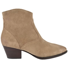 Ash 'Heidi Bis' Zip Up Suede Ankle Boots - Wilde