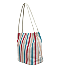 Envy Bags Striped Hobo Bag