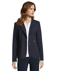 Betty Barclay Zip Detail Blazer - Dark Sky
