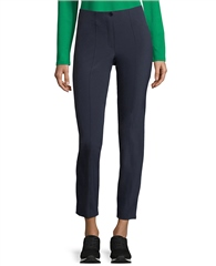 Betty Barclay Slim Fit Cropped Trousers - Dark Sky