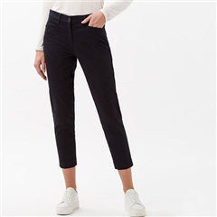 Brax 'Mara' Cropped Trousers - Perma Blue