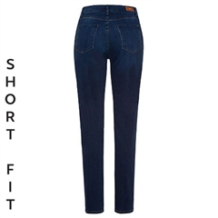 Brax 'Mary' Short Fit Jeans - Used Blue