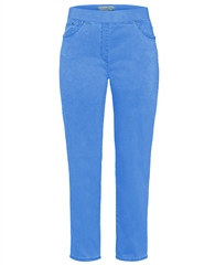 Raphaela by Brax 'Pamina' 6/8th Trousers - Sky Blue