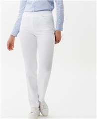 Raphaela by Brax 'Pamina' Trousers - White