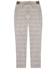 Brax 'Pary' Houndstooth Print Trousers - Beige