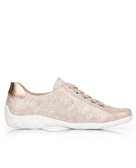 Remonte Lace Up Printed Trainers