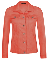 Robell 'Happy' Pocket Detail Jacket - Coral