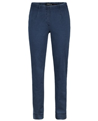 Robell 'Marie' Full Length Pull On Jeans - Denim