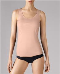 Wolford Pure Top - Rose Tan