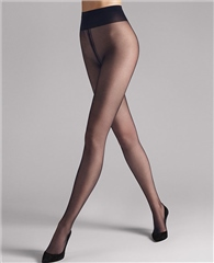 Wolford Tights Individual 10 - Navy