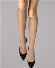 Wolford Tights Satin Touch 20 Knee-High - Sand