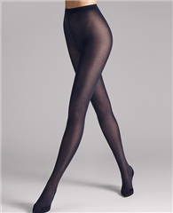 Wolford Tights Velvet De Luxe 50 - Navy