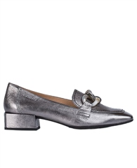 Wonders Chain Detail Metallic Loafers