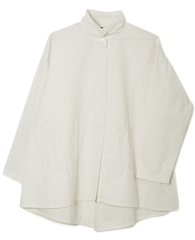 Yacco Maricard Cotton Broad Pintuck Shirt - White