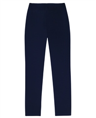 Georgede Pull On Wide Leg Trousers - Navy
