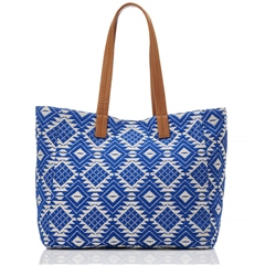 Hill and How Jacquard Tote Bag