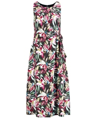 Gerry Weber Floral Print Pleated Dress