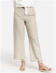 Gerry Weber Linen/Cotton Blend Cropped Trousers