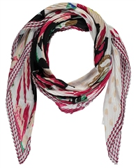 Gerry Weber Multi Print Pleated Scarf