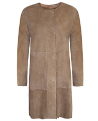 MaxMara Weekend Long Suede Coat