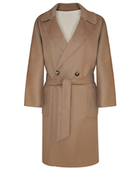 MaxMara Weekend Long Wool Reversible Coat