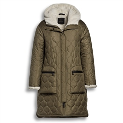 Creenstone Padded Fleece Lined Coat