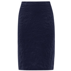 Robell 'Christy' 62cm Jacquard Skirt - Navy