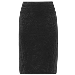 Robell 'Christy' 62cm Jacquard Skirt - Black