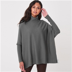 Repeat Wool Cashmere Mix Batwing Jumper