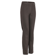 Robell 'Marie' 78cm Pull On Jeans - Chocolate