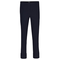 Robell 'Bella' 68cm Cropped Trousers - Navy