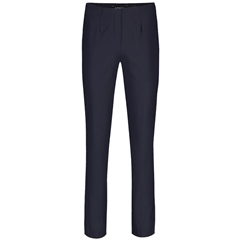 Robell 'Marie' 78cm Fleece Lined Trousers - Navy