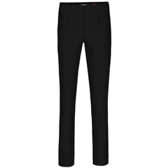 Robell 'Marie' 78cm Fleece Lined Trousers - Black