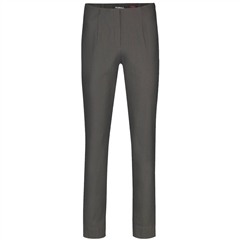Robell 'Marie' 78cm Fleece Lined Trousers - Charcoal