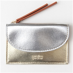 Caroline Gardner Metallic Coin Purse
