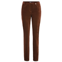 Robell 'Bella' 78cm Cord Trousers - Tan